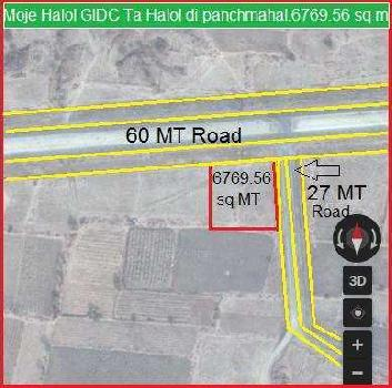 Industrial Land for Sale in Halol, Panchmahal