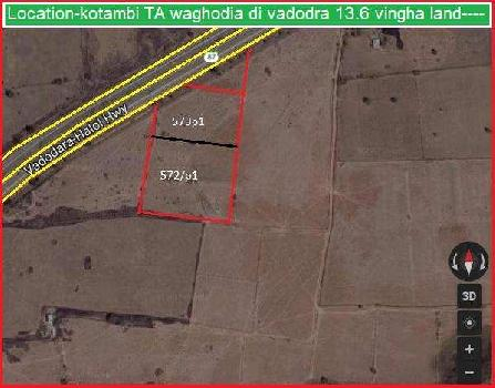 Industrial Land for Sale in Waghodia Road, Vadodara