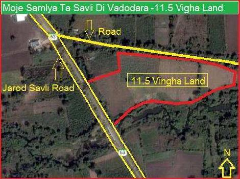 Agricultural/Farm Land for Sale in Vadodara