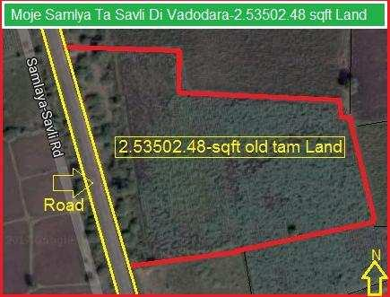 Agricultural/Farm Land for Sale in Vadodara