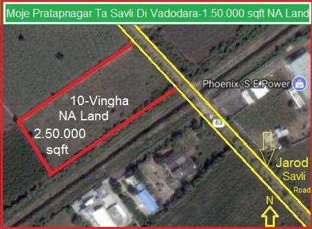Industrial Land / Plot for Sale in Vadodara