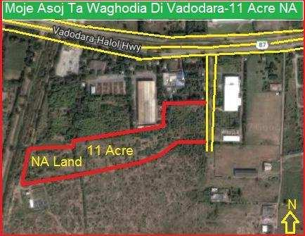 Industrial Land / Plot for Sale in Waghodia Road, Vadodara