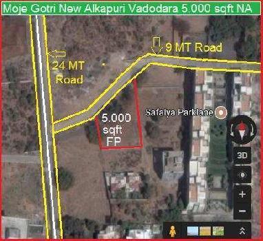 Residential Plot for Sale in Vadodara
