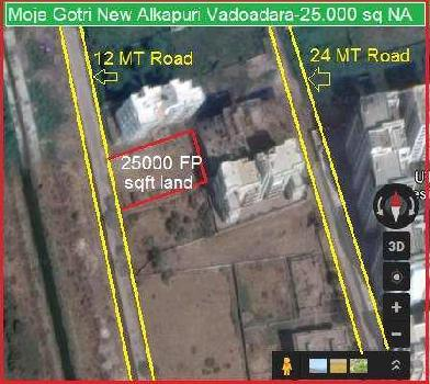 Residential Plot for Sale in Gotri, Vadodara