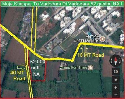 Commercial Lands /Inst. Land for Sale in Vadodara