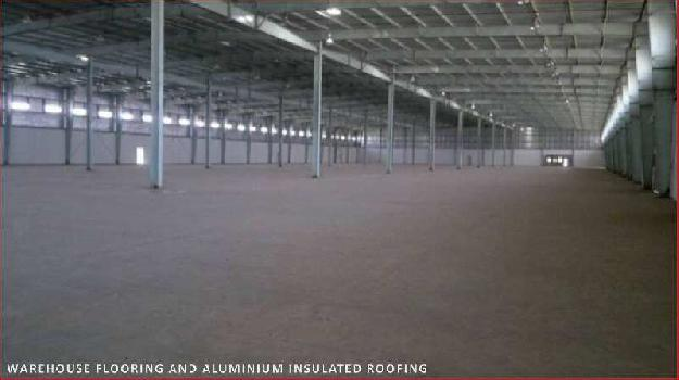 Warehouse shade for lease
