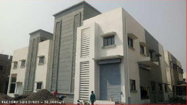 Factory buildin on lease Rs.10 per sq.ft