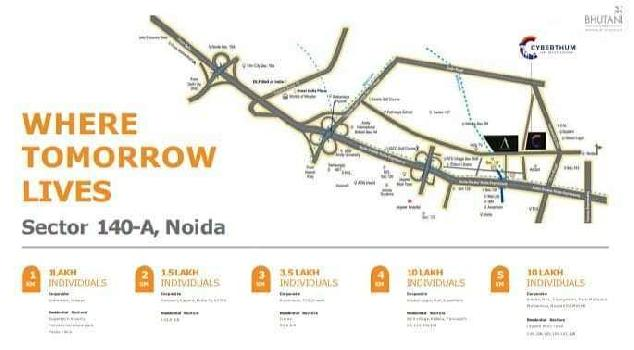 Commercial Shop For Sale In sector 140 A, Noida