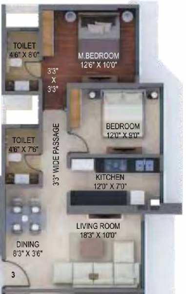 1 BHK Flats & Apartments for Sale in Kanjurmarg, Mumbai