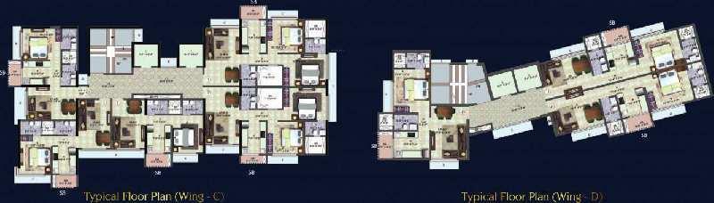 2 BHK Flats & Apartments for Sale in Vikhroli West, Mumbai