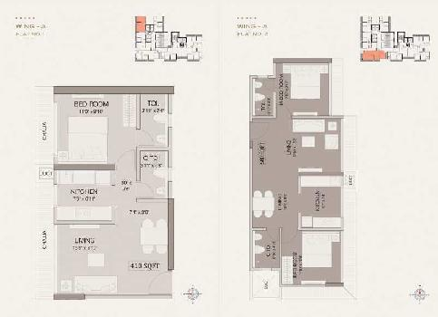 1 BHK Flats & Apartments for Sale in Sion East, Mumbai