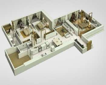 2 BHK Flats & Apartments for Sale in Parel, Mumbai