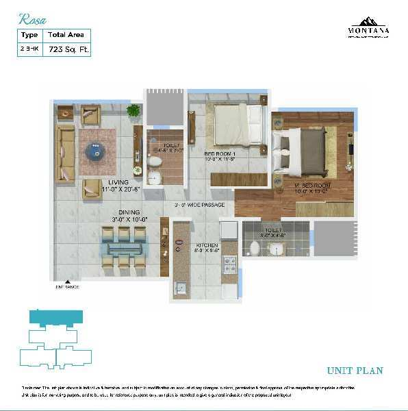 2 BHK Flats & Apartments for Sale in Mulund West, Mumbai