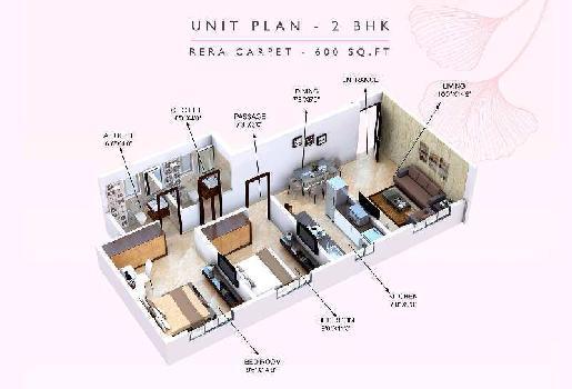 1 BHK Flats & Apartments for Sale in Ghatkopar East, Mumbai