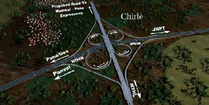 32 Guntha Residential Plot for Sale in Chirner, Navi Mumbai