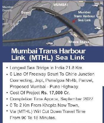 1089 Sq.ft. Residential Plot for Sale in Uran, Navi Mumbai
