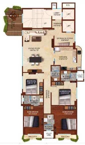 4 BHK Flats & Apartments for Sale in Chembur East, Mumbai