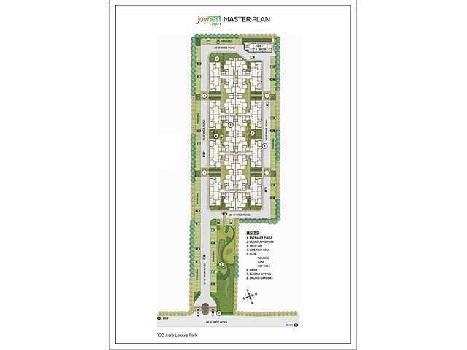 3 bhk 1275 sq.ft. flat for sale in SUSHMA JOYNEST ZRK, CHD-AMB HIGHWAY,ZIRAKPUR