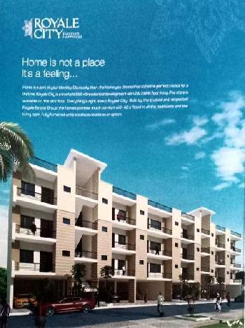 3 Bhk flat ready to move in Royale city