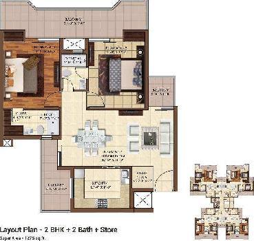 2 BHK Builder Floor for Sale in Dhakoli, Zirakpur