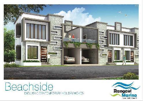 Premium Beach Side Row Villas For Sale At Hollant Beach,  Dabolim, Vasco Da Gama, Goa, India.
