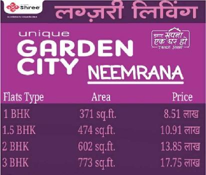 Affordable Flats in Neemrana on NH-8