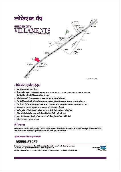 3BHK Villament in Neemrana, Main NH-8