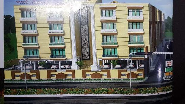2 Bhk flat available for sell in Sai village at Deva Road