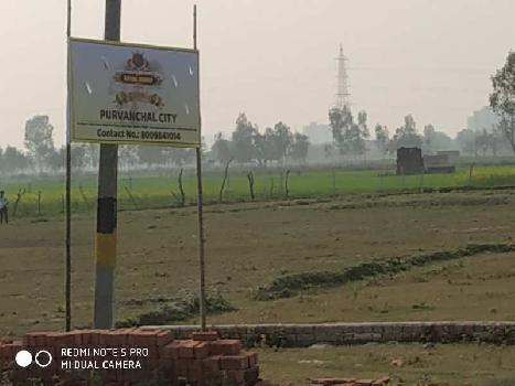 Residential plot for sell on sultanpur road near Jalsa Resort