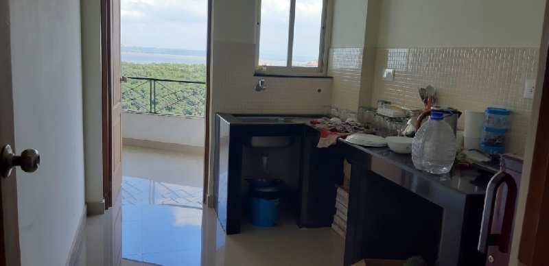 Spacious Seafcing flat for sale in vaddem vasco Goa