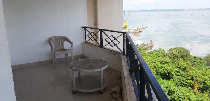 Spacious Seafcing flat for sale in vaddem vasco Goa