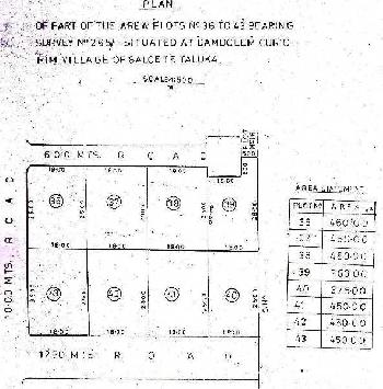 Plot for sale for construction purpose in curtorim salcete south goa