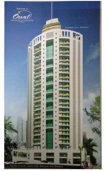 Spacious 3 bhk Flat for sell in prime location of kharghar near Metro Station