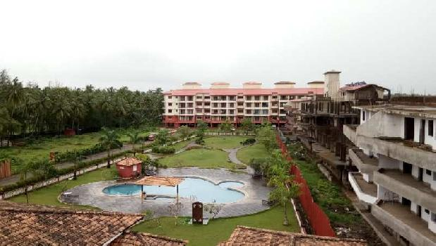 3bhk swimming pool facing apartment for sale in Goa