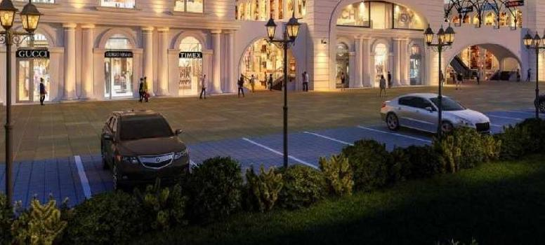 Commercial Showroom For Sale In GBP City Central, Dhakoli
