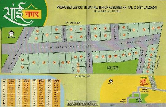 Residential Plot for Sale in Jalgaon