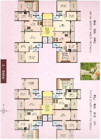 2 BHK Flats & Apartments for Sale in Titwala, Thane