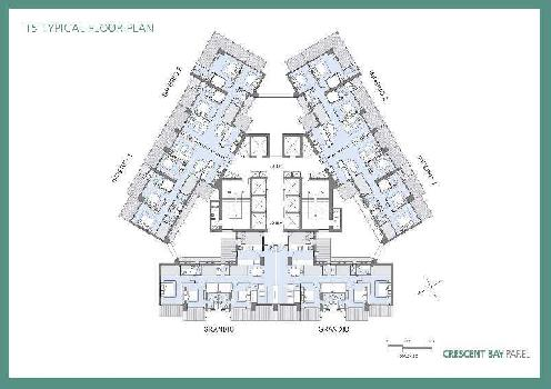 3 BHK ( Elegante ) Flat For Sale In T3, Parel Mumbai.