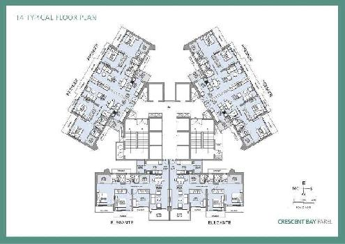 3 BHK (  Imperio I ) Flat For Sale In T5, Parel Mumbai