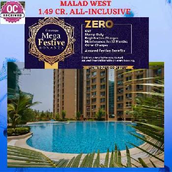 2 BHK 1.49 CR. READY MALAD WEST
