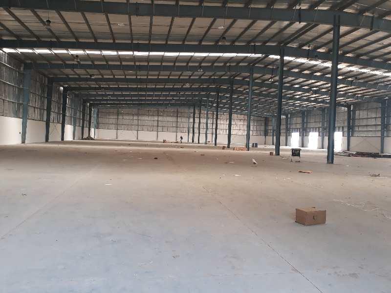 100000 Sq.ft. Factory / Industrial Building for Rent in Chhatral, Gandhinagar
