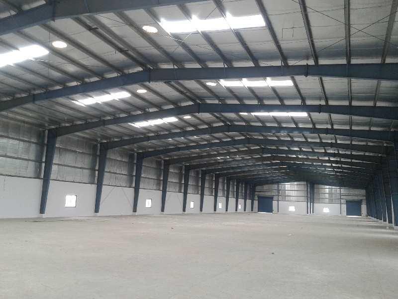 45000 Sq.ft. Factory / Industrial Building for Rent in Kalol, Gandhinagar