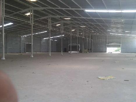 60000 Sq.ft. Factory / Industrial Building for Rent in Ranoli, Vadodara