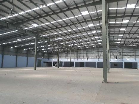 55000 Sq.ft. Warehouse/Godown for Rent in Narol, Ahmedabad