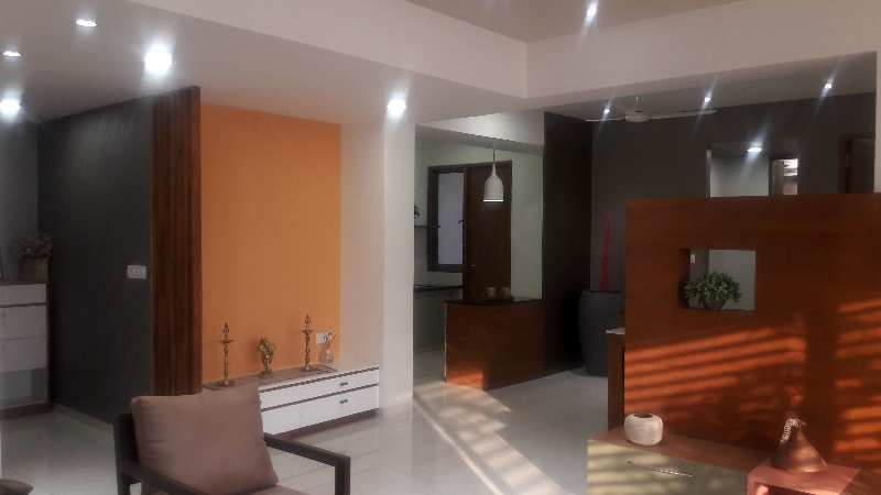 Fully furnished 3 bhk flat for sale in science city