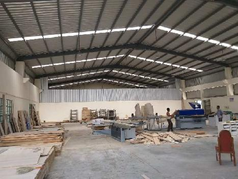 Industrial shed for rent in santej