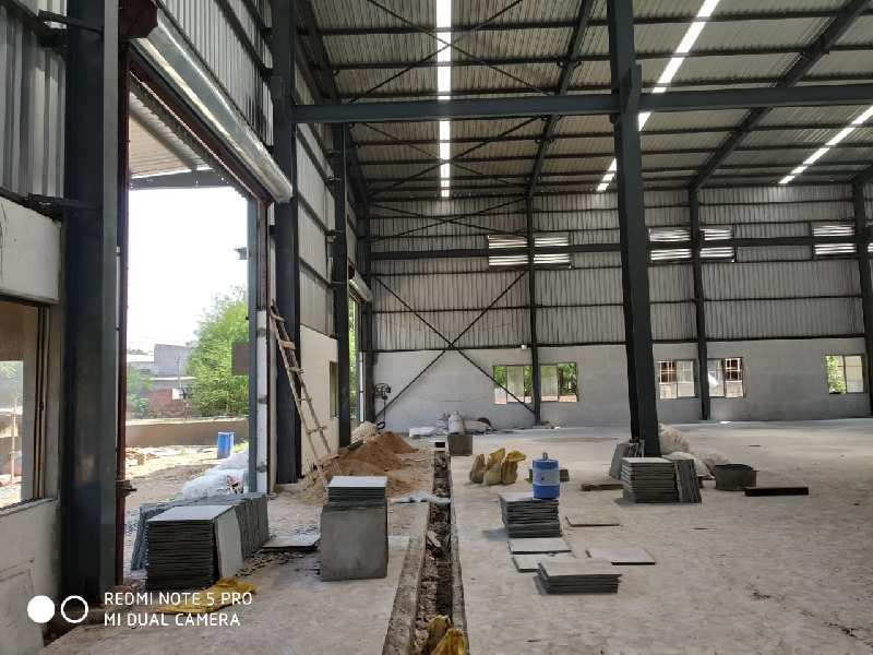 Industrial shed for rent in santej of west ahmedabad