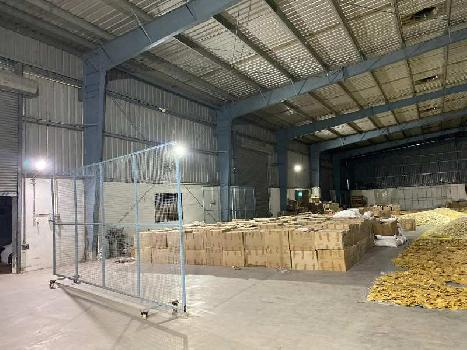 Indsutrial shed for rent in Santej of west ahmedabad