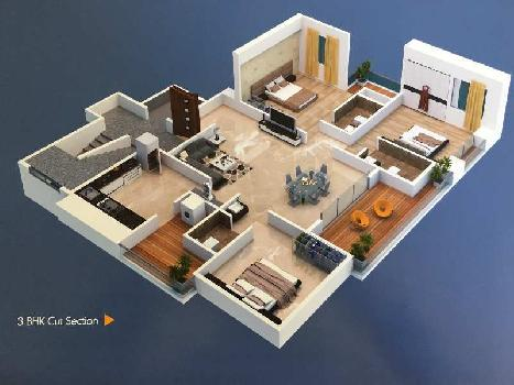 3 BHK Flat for Sale in College Road, Nashik