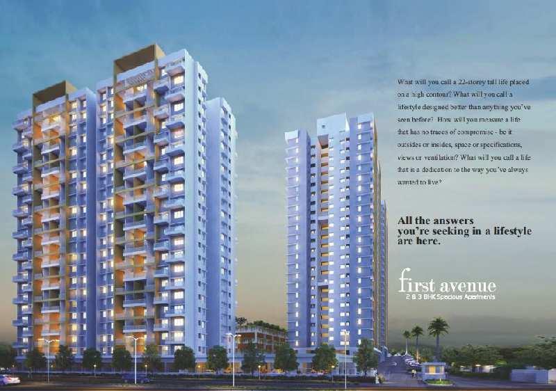 3 BHK Flats & Apartments for Sale in Hinjewadi, Pune